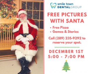 free picture with santa in grimsby