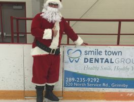 Smile Town Dental Group Sponsored Skating With Santa