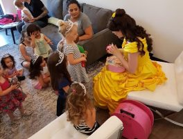 Princess Belle's Story Time in Grimsby