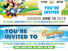 You're Invited To Our Summer Kickoff Party